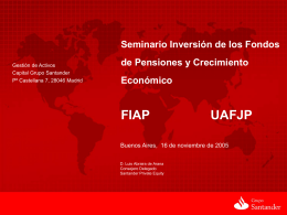 L. Abraira - noviembre - (FIAP) Federación Internacional de