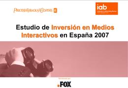 Presentacin Estudio IAB-PwC TOTAL 2007
