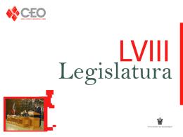 LVIIIlegislatura - Centro de Estudios de Opinion