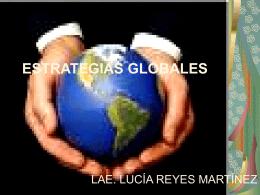 estrategias globales - administración utim