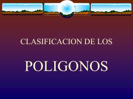 presentación de diapositivas sobre los polígonos