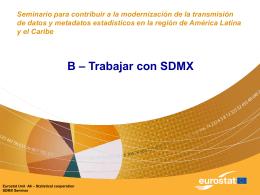 Trabajando con SDMX