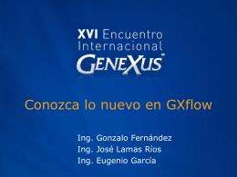 En qué estamos trabajando   Gxflow 9.0