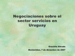 Uruguay - México - Cámara Nacional de Comercio y Servicios