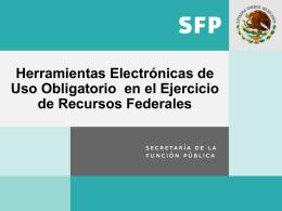 Herramientas Electrónicas de Uso Obligatorio en el Ejercicio