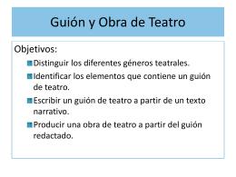 Apuntes Guión y Obra de teatro 97