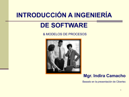 I Intro IdSW  - Informatica