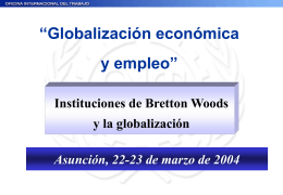 Instituciones de Bretton Woods