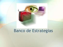 Etapa de integración del banco de estrategias - FMVZ-UNAM