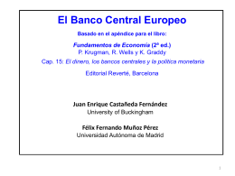 Banco Central Europeo_Transparencias