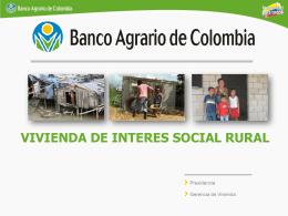 vivienda rural banco agrario neiva