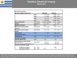 Uruguay - Secretaría de Economía
