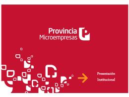 PROMESA BANCO PCIA PPT institucional 2014 ultima (1)