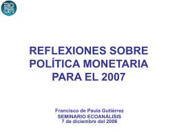 La economía en el 2006