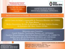 Medicina General - Residencias Profesionales
