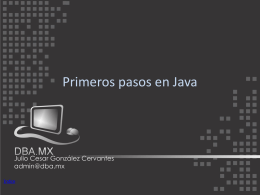 java - DBA.MX
