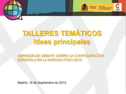 taller 1 - Cooperación Española