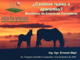 Ing. Agr. Ernesto Majó - Plan Agropecuario (pps)