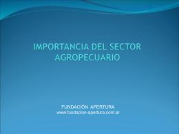 Agroindustria - Fundación Apertura