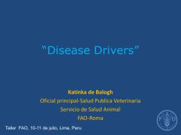 Disease driversPeru