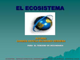 ecosistema - Página principal