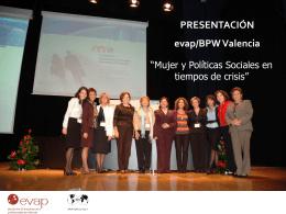 PRESENTACIÓN evap/BPW Valencia