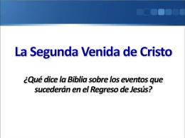 La Segunda Venida de Cristo - Predicando el Evangelio (Rom. 1:15