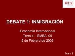 DEBATE INMIGRACIÓN - emba-bcn-09-team1