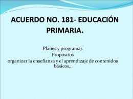 ACUERDO NO 181 junior