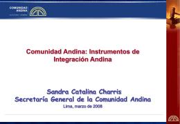 solución de controversias en la comunidad andina