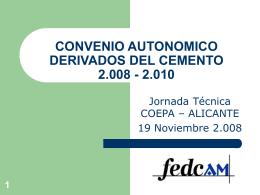 convenio autonomico derivados del cemento 2.008
