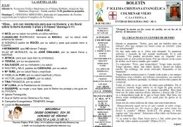 30 Junio 2013 - Iglesia Cristiana Evangélica de Colmenar Viejo