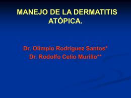 DERMATITIS ATÓPICA (DA)