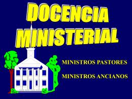 Docencia ministerial - Ministerio Personal y Grupos Pequeños