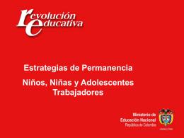 programas generales - Secretaría de Educación Departamental
