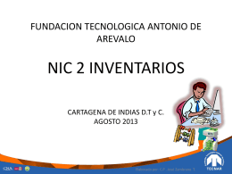 NIC 2 EXISTENCIAS DIAPOSITIVAS FORO TECNAR AGOSTO 02
