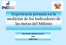 Presentación - Comunidad Andina