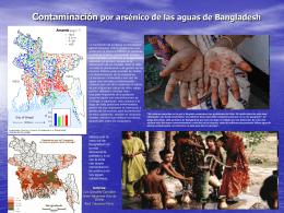 Contaminación por arsénico de las aguas de Bangladesh