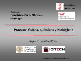 Procesos físicos, químicos y biológicos
