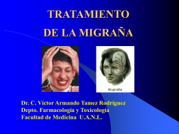 TRATAMIENTO DE LA MIGRAÑA