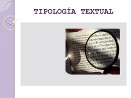 PPT Tipología textual