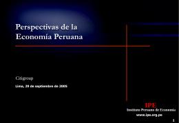 Presentación de PowerPoint - Instituto Peruano de Economía