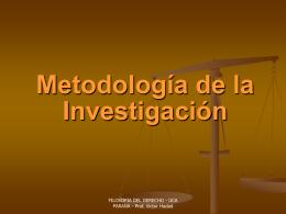INVESTIGADOR - Oscar Londero