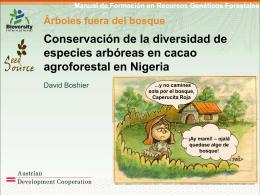 Manual de Formación en Recursos Genéticos Forestales