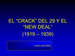 CRAC DEL 29 Y NEW DEAL - geografiasegundobachillerato