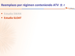 Estudio SLOAT - ARV