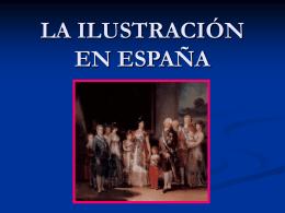 LAILUSTRACIÓN EN ESPPAÑA