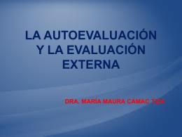 AUTOEVALUACIÒN Y EVALUACIÒN EXT.MARY (635392)