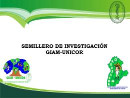 SEMILLERO GIAM-UNICOR 2014-1 PARA PLATAFORMA