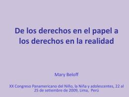 Diapositiva 1 - XX Congreso Panamericano del